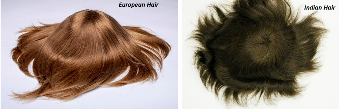 euro hair or indian hair